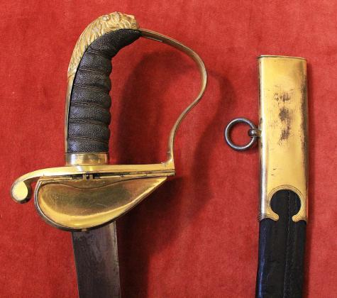 GEORGIAN OFFICER'S SWORD